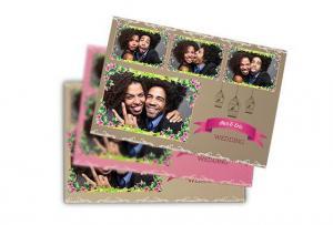 hangingbirdcagesandflowers4picturepostcard